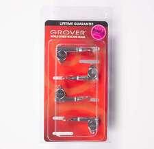 Grover 144C Mini Bass Guitar tuners 2x2 set - Chrome
