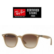 Gafas De Sol Ray Ban RB4258 616613 Beige Gradient Brown Originales nuevas