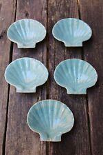 (5) Zanesville Country Fare Stoneware RARE Baking Shell Dishes