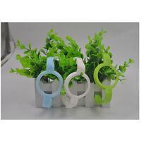 Baby Cup Feeding Bottle Trainer Easy Grip Standard Plastic Handles Holder Cw