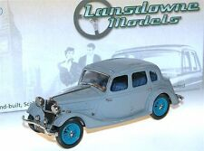Lansdowne/Brooklin Models LDM 91, 1936 Riley Adelphi Saloon, grey, 1/43