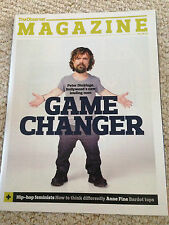 Games of Thrones PETER DINKLAGE PHOTO INTERVIEW OBSERVER MAGAZINE AUGUST 2015