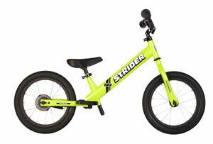NEW Strider 14x Sport Balance Bike - Green