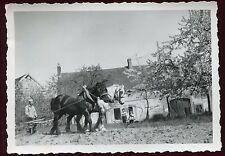 Yonne . Volgre . photo ancienne . 1954