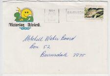 Stamp Australia 45c animal Victoria Riviera tourism cover 1994 Bairnsdale