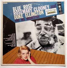 ROSEMARY CLOONEY & DUKE ELLINGTON - Blue Rose - Vinyl LP, VG+/VG, Swing