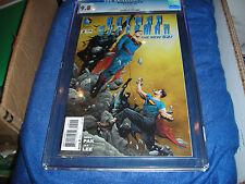BATMAN/SUPERMAN #2 9/13 CGC 9.8 NEW 52 GREG PAK STORY JAE LEE COVER & ART D.C.