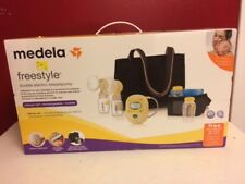 Medela Freestyle Double Electric Breastpump  Deluxe Set - NEW-SEALED 2017