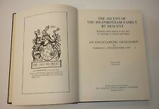 The Ascent of the Higinbotham Family by Descent by Noman Higinbotham, Genealogy