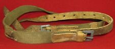 Unmarked circa 1942 year canvas and leather constructed PPSch.