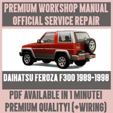 buy daihatsu car service repair manuals ebay rh ebay co uk daihatsu feroza workshop manual 1993 daihatsu feroza workshop manual