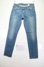 Levi's Denim Curve (Cod. E1370)Tg45 W31 L34 jeans usato Vita Bassa vintage zampa