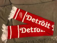 Detroit Red Wings Hockey Big Logo Reversible Acrylic Knit Scarf