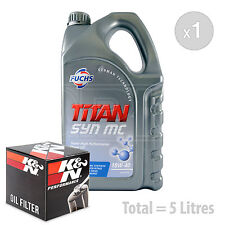 Engine Oil and Filter Service Kit 5 LITRES Fuchs TITAN SYN MC 10w-40 5L