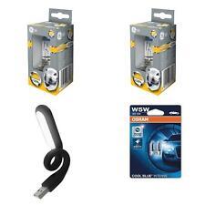 H7 MegaLight Ultra 120% mehr Licht 2St GE + W5W CoolBlue Intense + USB Licht