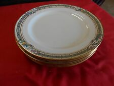 "Beautiful  Vintage LENOX  ""Tiffany"" 6 Bread / Salad / Dessert PLATES"