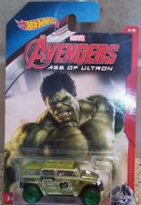 Hulk Rockster Avengers Age of Ultron Hot wheels 5/8 die Cast Car ( Box M2 )