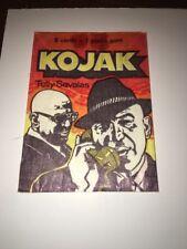 RARE 1975 HOLLAND KOJAK WAX CARD WRAPPER