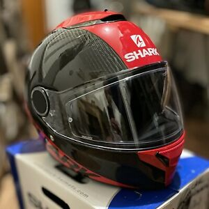 L@@K… Shark Spartan Carbon Helmet Size M