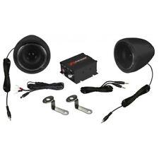 RENEGADE RXA100 B Soundsystem RXA100 Motorcycles/Scooter Amplifier + Speaker
