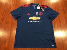 2016-17 Adidas Authentic Player Manchester United Men's Soccer Jersey XXL 2XL