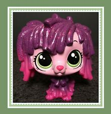 Authentic Littlest Pet Shop Lps #141 Stella Komondor Pink Glitter Sheepdog Se