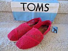 TOMS Shoes Women's 9 Pnk