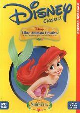 Disney - La Sirenetta - Libro Animato Creativo PC CD-Rom
