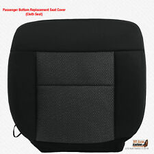 2004 - 2006 Ford F150 FX4 Passenger Bottom Cloth Replacement Seat Cover BLACK