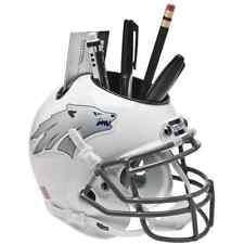 NEVADA WOLF PACK NCAA Schutt Mini Football Helmet DESK CADDY (WHITE)