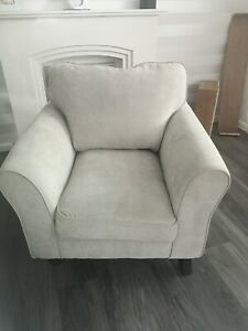 Grey chair excellent condition.18 months old. Needs cleaning. Collection only