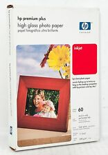 "HP PREMIUM PLUS HIGH GLOSS PHOTO PAPER 4"" X 6"" (60 SHEETS)"