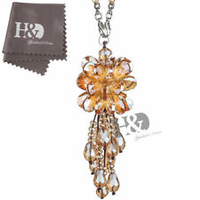Handmand Crystal Pendant Suncatcher Car Interior Window Hanging Ornament Gifts