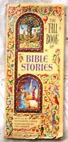The Tall Book of Bible Stories by Gibson /Illustrated by Chaiko /1st Ed. /1957