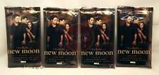 The Twilight Saga - New Moon Trading Cards x 4 Packet Neca trading cards