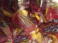 New Cherry Jolly Rancher Candy A Wedding Party 2 Pounds LB RED FRESH