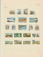 south african 1983 stamps page ref 17905