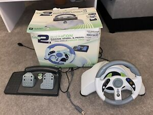 Mad Catz MC2 steering wheel for Xbox 360 and PC Win10