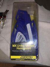 Acerbis Uniko Handlebar Guards Vented Blue Mx New Open Box Complete 20726-70003