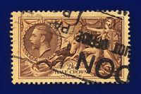 1934 SG450 2s6d Chocolate-Brown N73(1) London Good Used Cat £40 cqcx