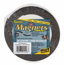 """10 Feet Flexible Craft Magnet Magnetic Strip 1/2"""" Adhesive Backed from Darice"""