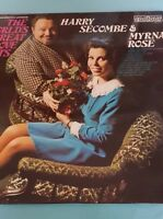 HARRY SECOMBE AND MYRNA ROSE  CONTOUR RECORDS 6870522 LP