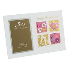Happy Anniversary Photo Frame 6 x 4 inch