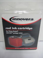 NEW - OFFICE DEPOT RED INK CARTRIDE FOR PITNEY BOWES MAILSTATION OM96799 - SALE