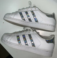 LADIES TRAINERS - ADIDAS SUPERSTAR - UK SIZE 4 - EUR 36.5 - VERY GOOD CONDITION