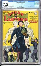 GREEN LANTERN #35   CGC 7.5 VF-   WHITE PAGES!  VERY NICE STRICTLY GRADED COPY!