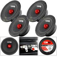"4 DS18 PRO-GM6B 6.5"" Midrange Bullet Speakers 480 Watts Max Power 8 Ohm Speaker"