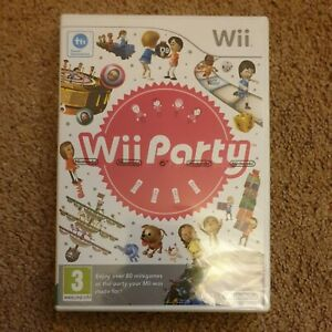 Wii Party (Nintendo Wii, 2010) Brand New & Sealed Rare