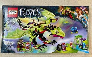 LEGO Elves 41183 The Goblin King's Evil Dragon  New in sealed box
