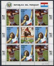 PARAGUAY 1987 Olympiade Olympics Seoul 1988  4133-4134 Kleinbogen ** MNH